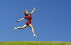 how to get more energy and jump for joy